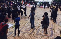 Classes suspended at Wits as protests continues #Fees2017