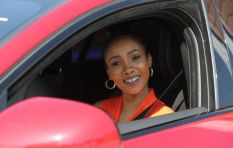 WATCH: Azania burns rubber at Sandton City's special rooftop track