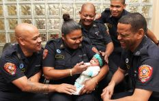 [VIDEO] CT firefighters in emotional reunion with mom and baby they saved