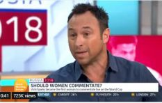 Say what? Former footballer says he can't stand women commentators