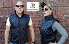 Is this the latest must-have fashion item in SA, a bulletproof bodywarmer?