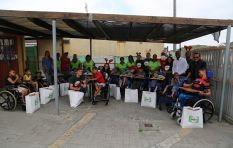 Truck of Love spreads love to the children of Erica Special Care Centre