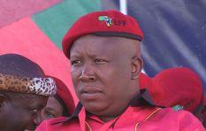 Julius Malema predicted Gordhan's arrest months ago