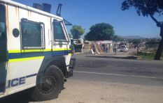 Siqalo quiet now, but police nyala and vans patrol as elections kick off