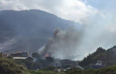 Simon's Town residents evacuated as fire continues to destroy property