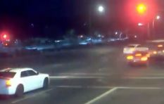 [VIDEO] Family saved from being hit by speeding SUV goes viral