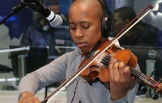WATCH: Young violinist Pendo Masote pulls at the heartstrings on #702Unplugged