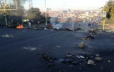 Diepkloof residents burn tyres, barricade roads