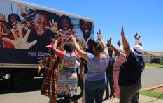 702 Truck of Love with Spar visits Ennerdale