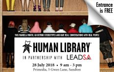 Don't miss the Human Library brought to you by Lead SA and Brand SA