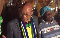 Zuma receives mixed reception in Thembelihle township