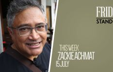 Pioneering social activist Zackie Achmat is your next #FridayStandIn