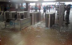 Train services back on track after park station shutdown due to vandalism