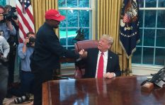 Kanye West visits the White House to lunch with President Trump