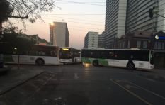 'They are using municipal buses to block routes around the city'
