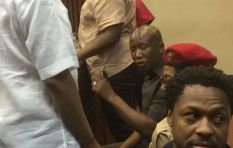 Malema maintains he did not touch police officer in alleged common assault case