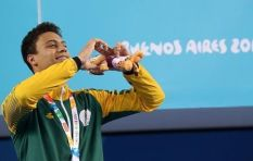 SA's Michael Houlie (18) talks clinching gold in historic Youth Olympics swim
