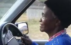[WATCH] 80-year-old Gogo's first hilarious driving experience goes viral