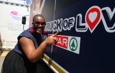 702 Truck of Love with Spar visits the Hlalefang Alexandra Chess Club