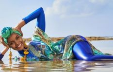 [WATCH] Model wearing a hijab and burkini has social media talking