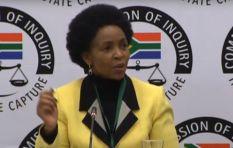 'I got to know of Gupta aircraft landing on TV,' Nkoana-Mashabane tells inquiry