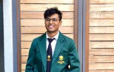 SA pupil Rohan Naidoo comes out tops at world debating tournament