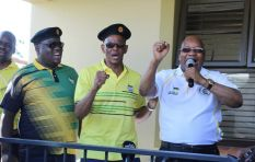 Magashule refuses to answer questions surrounding alleged  phone tapping
