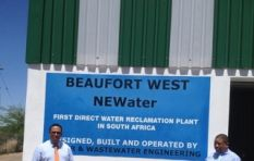 Beaufort West is relying solely on boreholes and effluent water