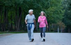 Walking can be the key to healthy living
