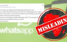 Fact-checker warns against downloading WhatsApp Gold, says it is a malware