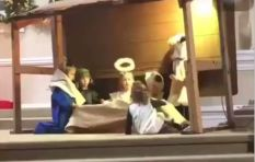 [WATCH] Nativity play turns hilariously violent as fight for baby Jesus ensues