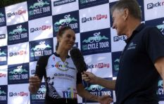 Sam Gaze and Cherise Willeit the winners of 2019 CT Cycle Tour