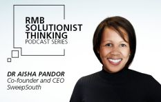 Aisha Pandor, tackling unemployment with dignified work opportunities