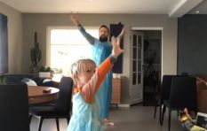 [WATCH] Father dresses up as Frozen's Elsa, dances with son to 'Let it Go'