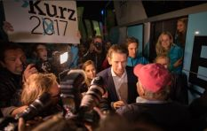 Austrian centre-right victor youngest head of state elected in Europe