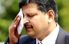 The net is closing in on the Guptas