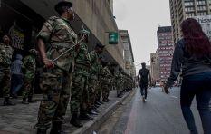 [WATCH] Cops fire rubber bullets on ANC members