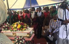 Alexandra toddler Evelyn Chauke  laid to rest