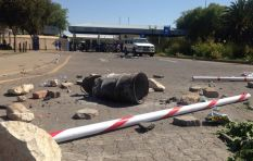Ramaphosa arrives in Mafikeng to address protesters