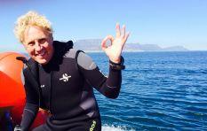 Extreme adventurer Braam Malherbe rowing in Cape to Rio
