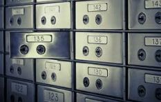 Safe deposit boxes on their way out?