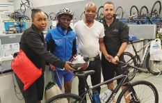 Cycle Lab gifts cyclist with new bike after his broke
