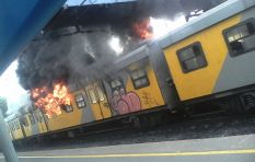 Metrorail train fires a deliberate action of arson but motive unknown