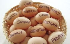 You have too many eggs in too few baskets (e.g. your home, Naspers in your RA)