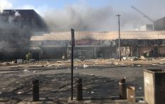 [VIDEOS] Buildings and shops looted and burned in Pretoria CBD