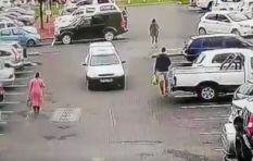[VIDEO] Security guard brutally driven over in Stellenbosch carpark