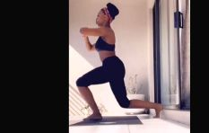 #FitnessWednesday with Ayanda MVP during Lockdown 21: Squats, burpees, & more