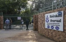 Man assaulted amid protest at Hoërskool Overvaal
