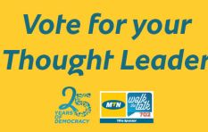 Vote for South Africa's greatest thought leader