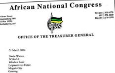 Here's the purported ANC letter Mmusi Maimane revealed during Ramaphosa's Q&A